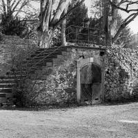 Die 1701 erbaute zweiläufige Treppe. (Archiv)